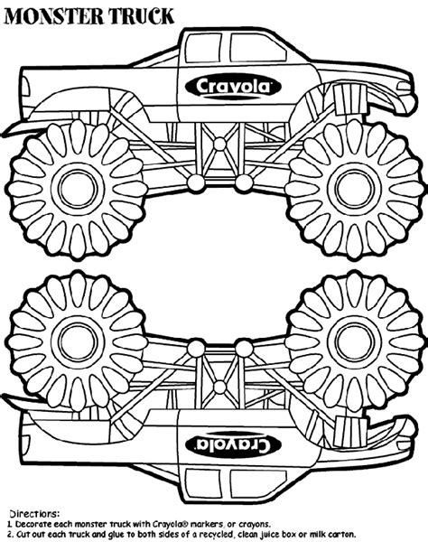 crayola coloring pages cars truck box crayola ca