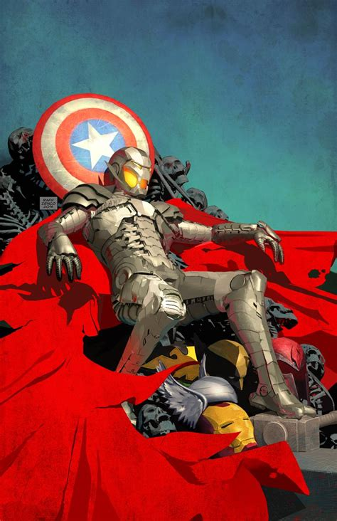 Gw Se 4e Ironman Set what if age of ultron 1 comic book cover geektyrant