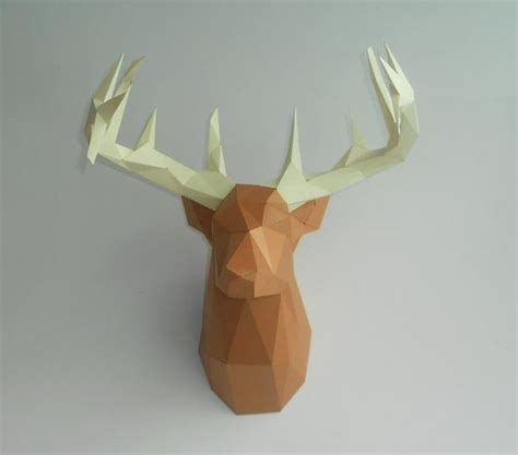 Papercraft Deer - yet another deer papercraft