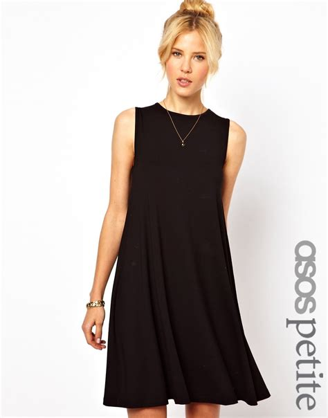 asos petite swing dress asos petite asos petite sleeveless swing dress at asos