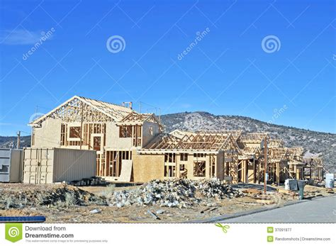 home warehouse design center big bear lake california house framing editorial photography image 37091877