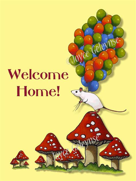 client welcome home cards