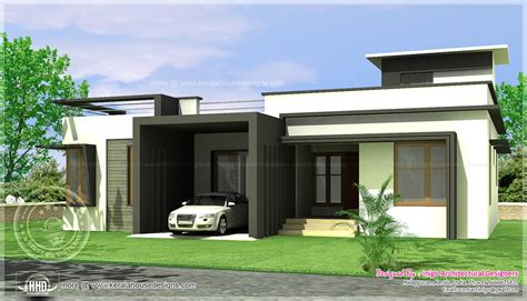 modern home design single floor 2017 of floor cabin house single story modern house plans in kerala escortsea