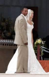elin nordegren stars who wore vera wang wedding gowns