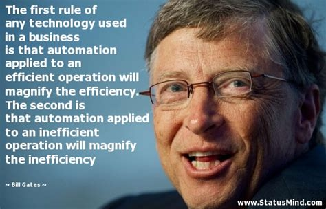 nirmal automation bill gates quote on automation