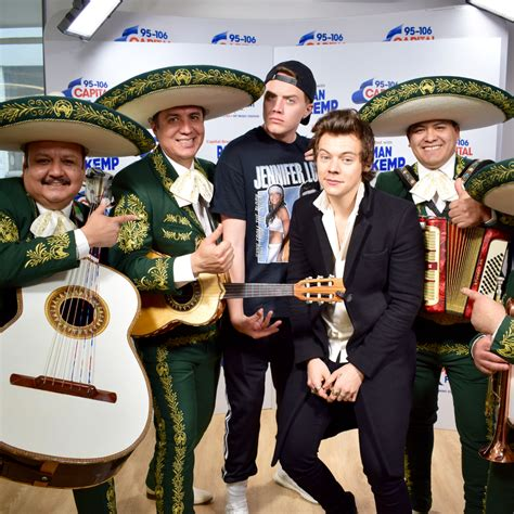 mariachi hairstyles watch a mariachi band sang harry styles tweets and his