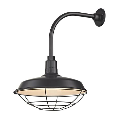 black gooseneck barn light black outdoor barn wall light with gooseneck arm and 16