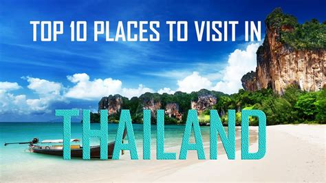 best things to see in top 10 places to visit in thailand top 10 things to see
