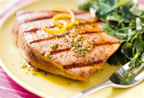 grilled tuna steaks with spiced vinaigrette recipe leite s culinaria
