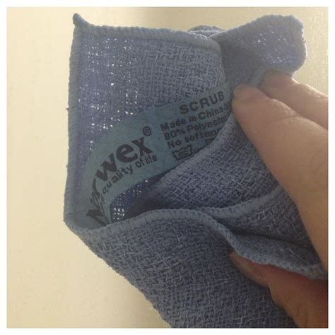 rave review norwex kitchen scrub cloth descaler