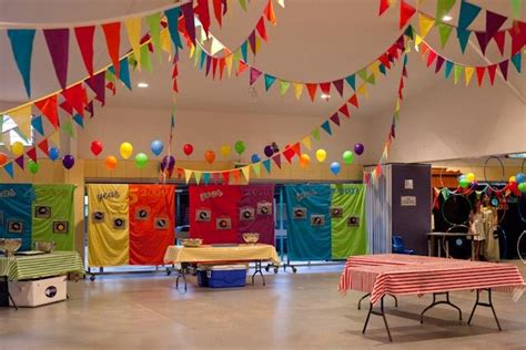 carnival themed ball school carnival decorations love the colorful flag