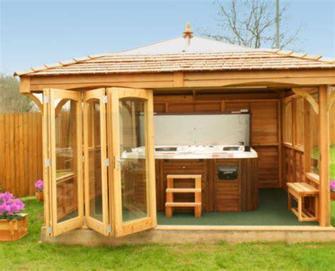 hot tub buildings swim spas  hideout house company