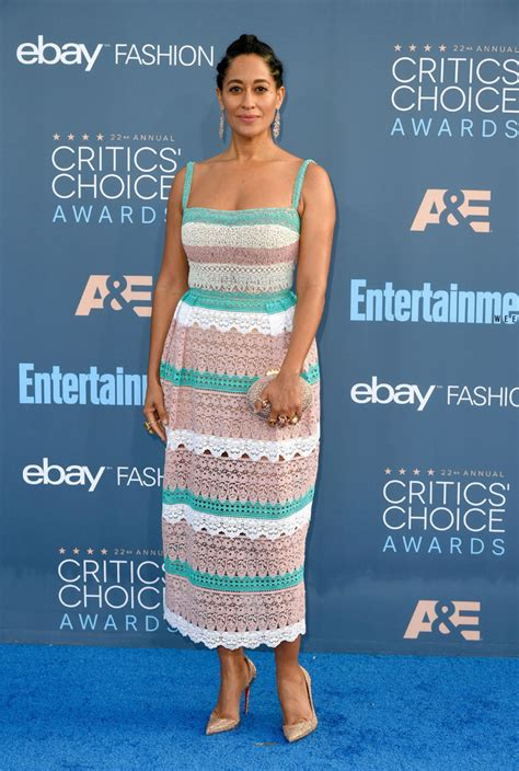 tracee ellis ross fashion line tracee ellis ross and celebs hit the critics choice
