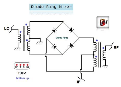 diode ring mixer 28 images universal balanced diode ring mixer signal mixers transmit