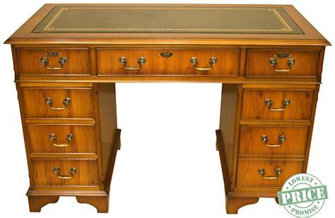 Yew Office Desk Reproduction Antique Desks Antique Furniture