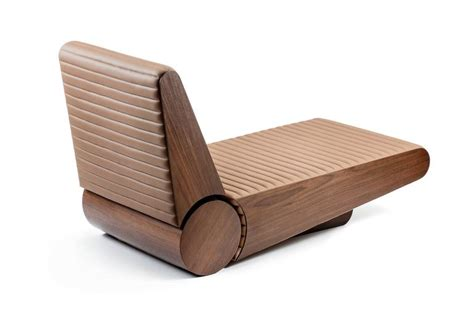 chaise 192 ra by ronald sasson in ipe wood for sale