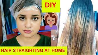 tips and tricks at home permanent hair straightening at home diy with tips and
