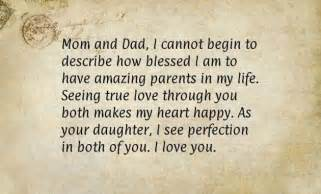 Thank You Letter Father For Wedding thank you letter to my parents on my wedding day sample