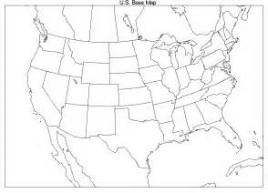 Blank Us Map Printable by Printable Blank Us And Canada Map