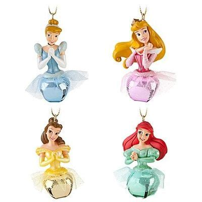 disney 4pc ornament set jingle bell disney princess ornament set 4 pc wonderful world of disney juxtapost