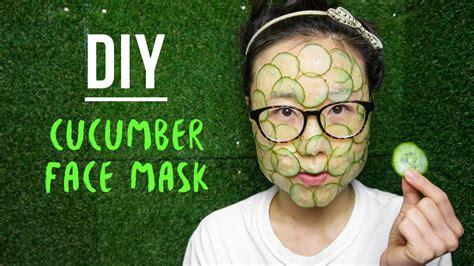 cucumber mask diy diy cucumber mask for lightening skin