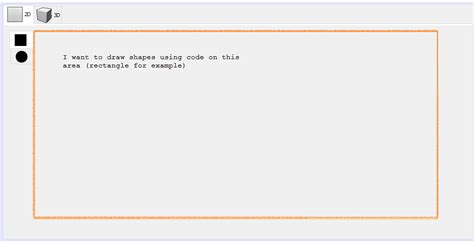 Drawing Shapes In Netbeans netbeans java how to draw shapes on a ide generated
