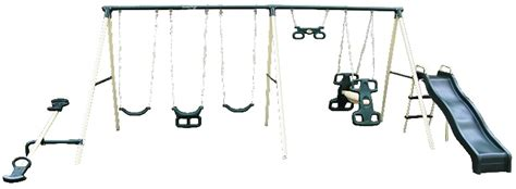 flexible flyer big adventure metal swing set flexible flyer swing sets share the knownledge