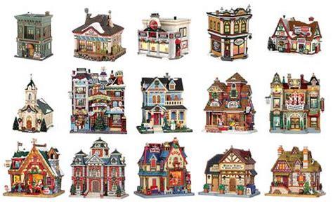 mini christmas village houses miniature buildings and model houses christmas village displays