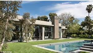 Cliff May Homes jeremy renner puts his remodelled beverly hills mansion on