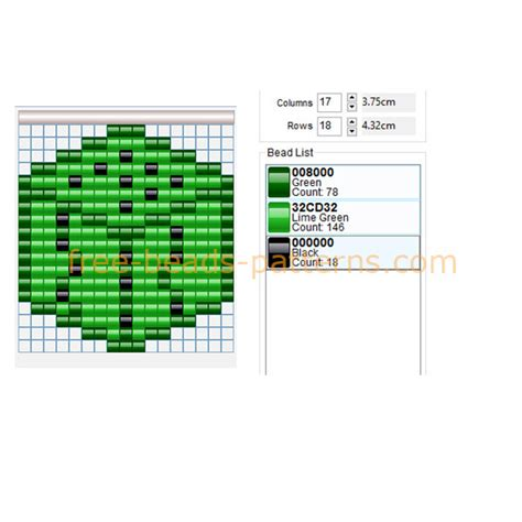 pattern programs in php minecraft cactus block free perler beads pattern made with
