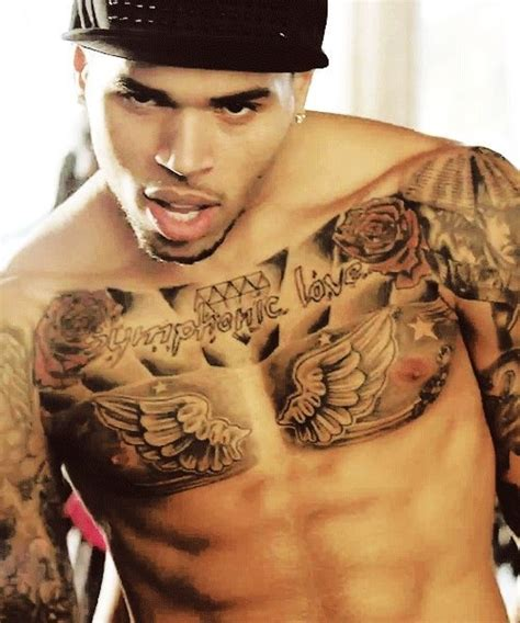 tattoo on chris brown chest 34 best images about chris brown tattoos on pinterest
