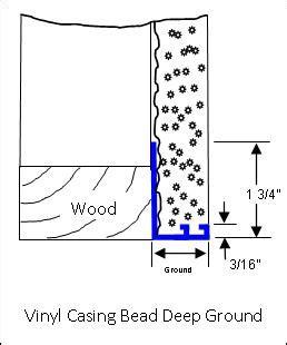 stucco casing bead stucco vinyl casing bead stucco products carroll s