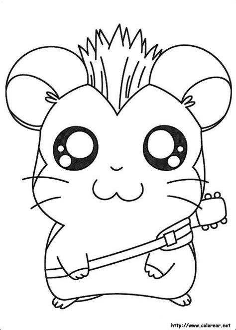 imagenes para viñetas html dibujos para colorear de hamtaro