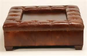Oversized Ottoman Coffee Table 332 Oversized Tufted Leather Ottoman Coffee Table Lot 332