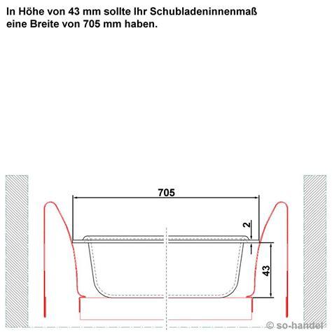 besteckkasten 80er schublade so tech 174 besteckeinsatz 705 x 462 mm f 252 r 80er nobilia