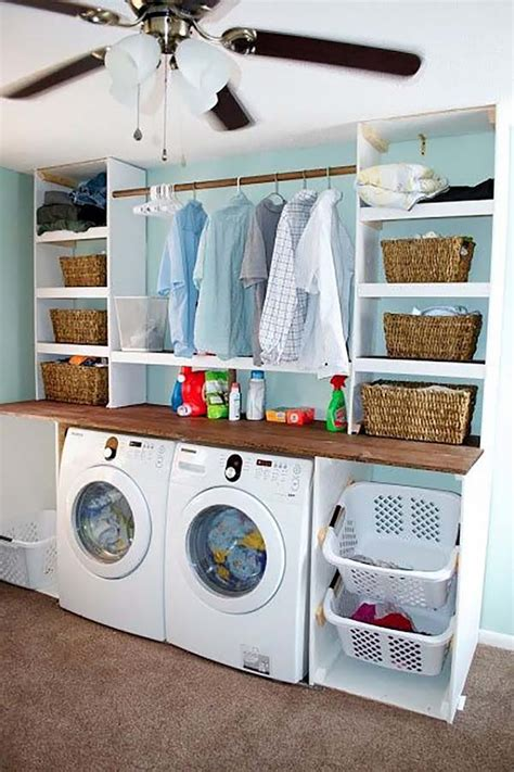 Wonderfully Clever Laundry Room Design Ideas Small Laundry Room Decorating Ideas
