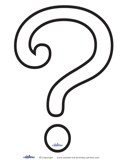 large printable question mark pictures of question marks printable clipart best