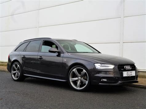 Audi A4 Avant Sale by Used 2012 Audi A4 Avant Tdi Quattro S Line Black Edition