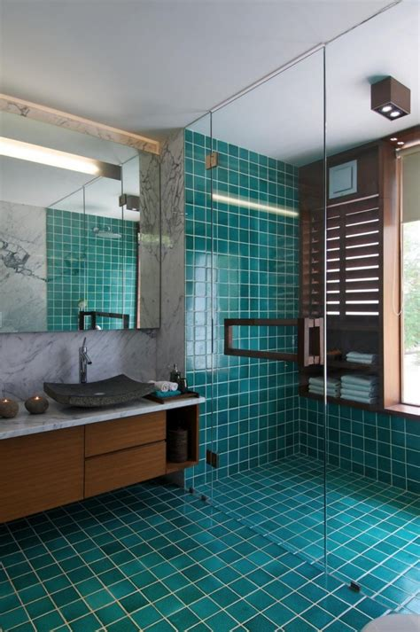 turquoise bathroom floor tiles turquoise almost teal or emerald green shower tile and