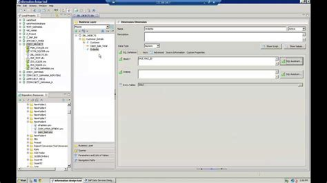 sap tutorial idt sap business objects idt training creating business