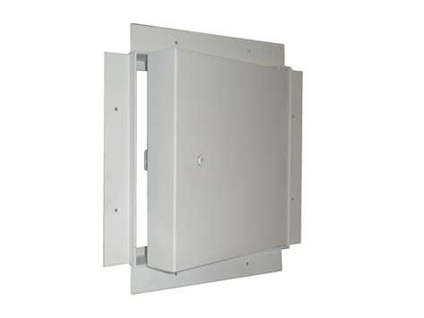 recessed panel doors fd2rf 2 hour fire rated recessed flange access panel for
