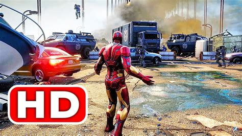 avengers gameplay demo full walkthrough iron man