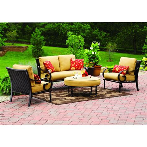 Better Homes And Gardens Patio Furniture Replacement Cushions Englewood Conversation Set Replacement Cushion Garden Winds