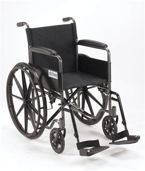 Weel Chair by Drive Silver Sport 1 Wheelchair With Arms And Swing