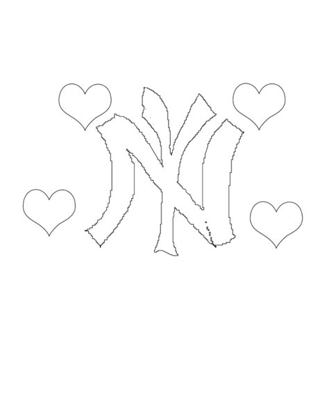 coloring pages yankees new york yankees coloring pages coloring home