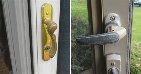 How To Fix A Door Knob That Fell by Screen Door Handle Broken Need Replacement Handle Swisco