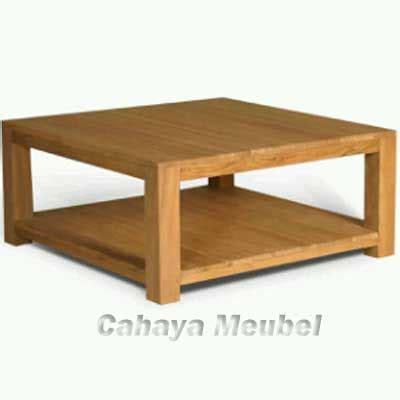 Meja Kopi Kayu Jati meja kopi minimalis jati jepara jual meja kopi kayu jati minimalis modern cahaya mebel jepara