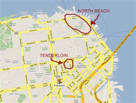 san francisco neighborhood map tenderloin bill o reilly s san francisco is scary san francisco