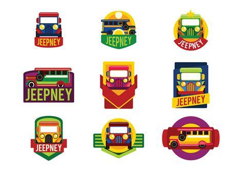 philippines jeepney vector jeepney labels vector download free vector art stock