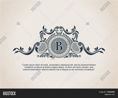 royal design elements vector vintage decorative elements vector photo bigstock